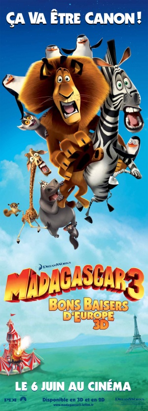 Madagascar 3: Europe's Most Wanted 1298x3600