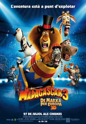 Madagascar 3: Europe's Most Wanted 3169x4528