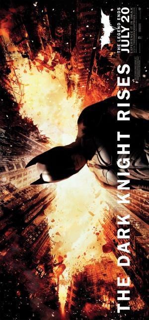 Batman: El caballero de la noche asciende 2323x5000