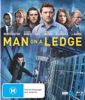 Man on a Ledge Blu-ray cover