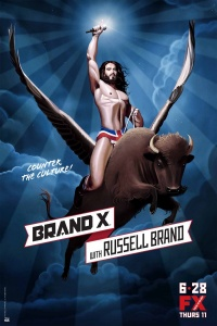 Brand X with Russell Brand poster