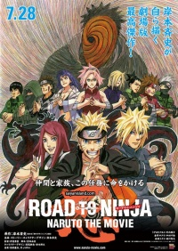 Road to Ninja: Naruto the Movie poster