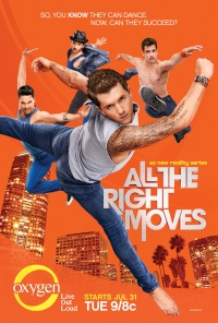 All the Right Moves poster