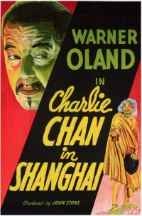 Charlie Chan in Shanghai poster