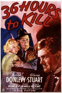 36 Hours to Kill poster