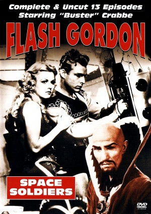 Flash Gordon Dvd cover