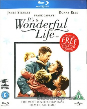 It's a Wonderful Life Blu-ray cover