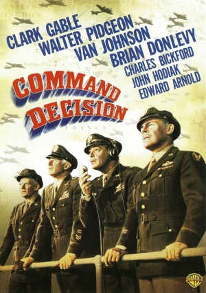 Command Decision Dvd cover