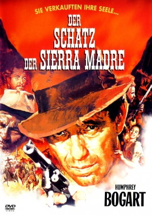 The Treasure of the Sierra Madre Dvd cover