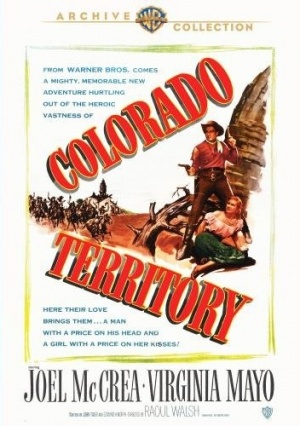 Colorado Territory Dvd cover