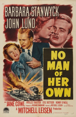 No Man of Her Own Poster