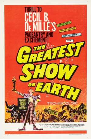 The Greatest Show on Earth Re-release poster