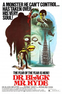 Dr. Black, Mr. Hyde poster
