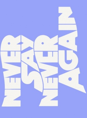 Never Say Never Again Logo