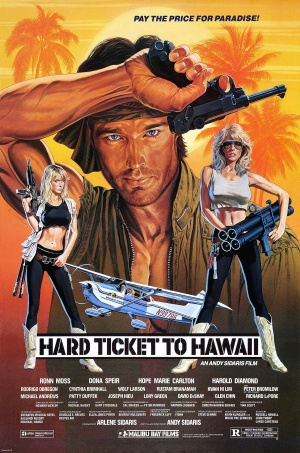 Hard Ticket to Hawaii Poster