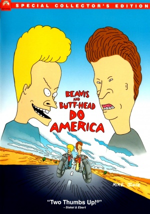 Beavis and Butt-Head Do America Dvd cover