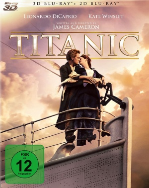 Titanic Blu-ray cover