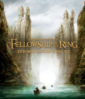 The Lord of the Rings: The Fellowship of the Ring Blu-ray cover
