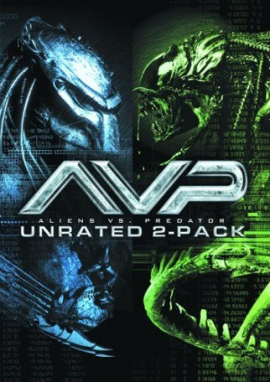 AVP: Alien Vs. Predator Dvd cover