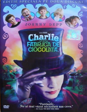 Charlie and the Chocolate Factory 522x669