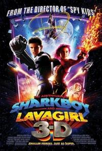 Die Abenteuer von Sharkboy und Lavagirl in 3-D poster