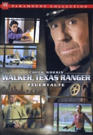 Walker, Texas Ranger: Trial by Fire Cover
