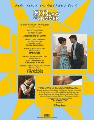 (500) Days of Summer 650x835