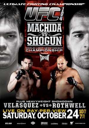 UFC 104: Machida vs. Shogun Poster