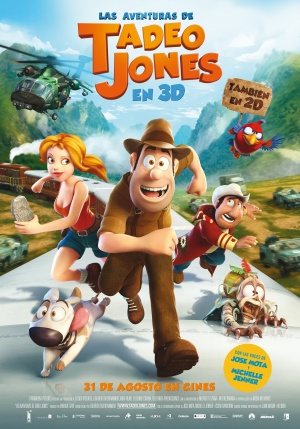 Las aventuras de Tadeo Jones Poster
