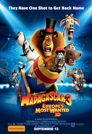 Madagascar 3: Europe's Most Wanted 334x485
