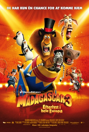 Madagascar 3: Europe's Most Wanted 3345x4956