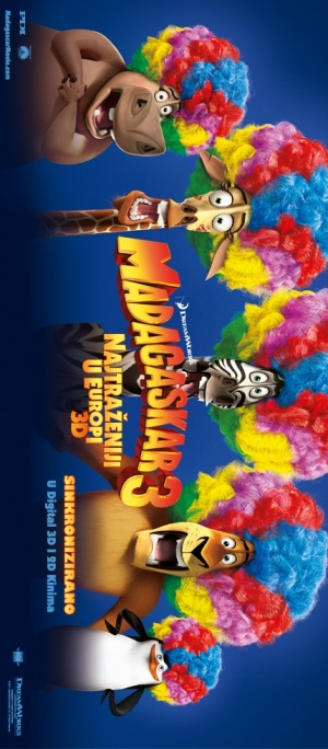 Madagascar 3: Europe's Most Wanted 430x980