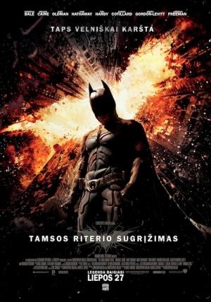 Batman: El caballero de la noche asciende 500x714