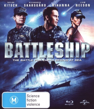 Battleship Blu-ray cover