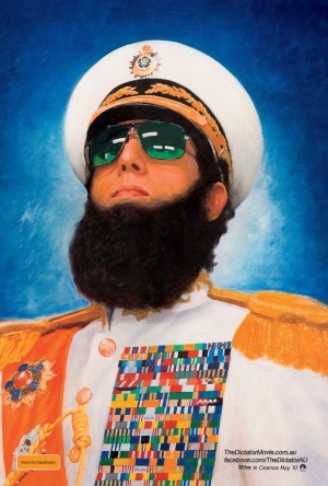 The Dictator 3375x5000