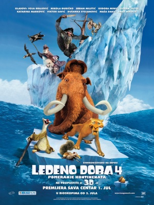 Ice Age 4 - Voll verschoben 1190x1586