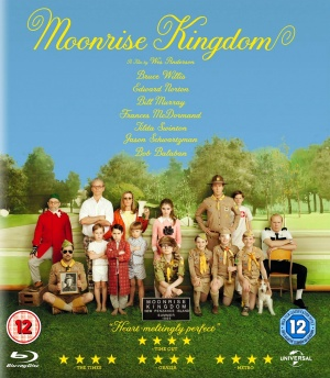 Moonrise Kingdom Blu-ray cover