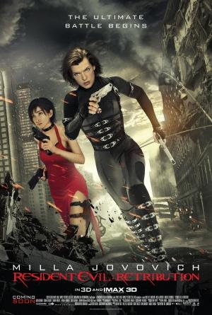 Resident Evil: Retribution 1382x2048