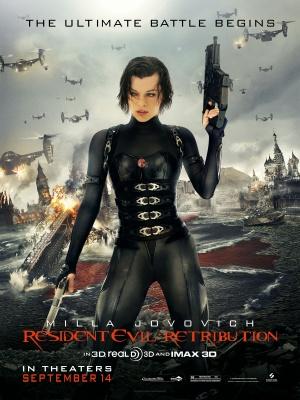 Resident Evil: Retribution 3750x5000
