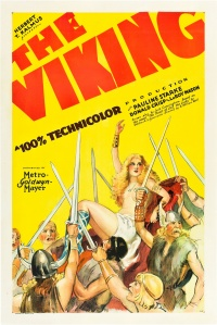 Les Vikings poster