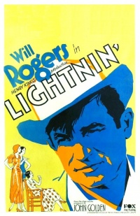 Lightnin' poster