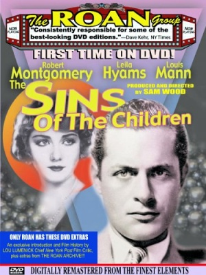 The Sins of the Children Dvd cover
