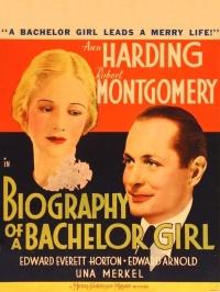 Biography of a Bachelor Girl poster