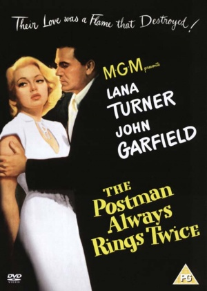 The Postman Always Rings Twice Dvd cover