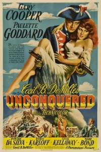 Unconquered poster