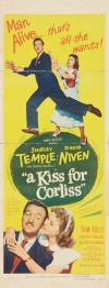 A Kiss for Corliss Poster