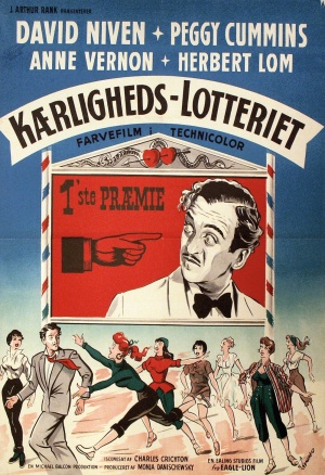 The Love Lottery Poster