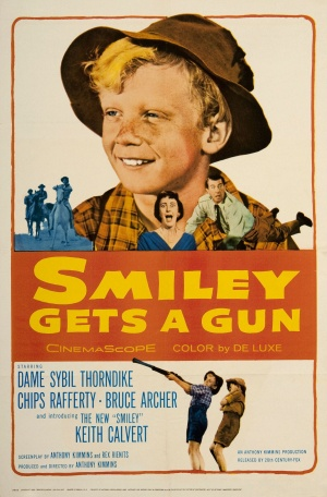 Smiley Gets a Gun Poster