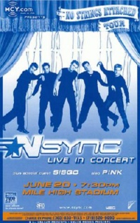 'N Sync: No Strings Attached poster