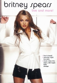 Britney Spears Live and More! poster